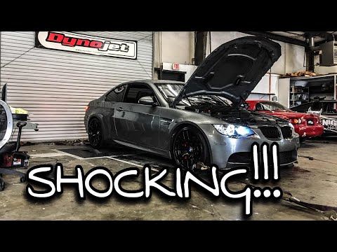 Dyno Day: How Much Difference Do the M3 Mods Really Make?