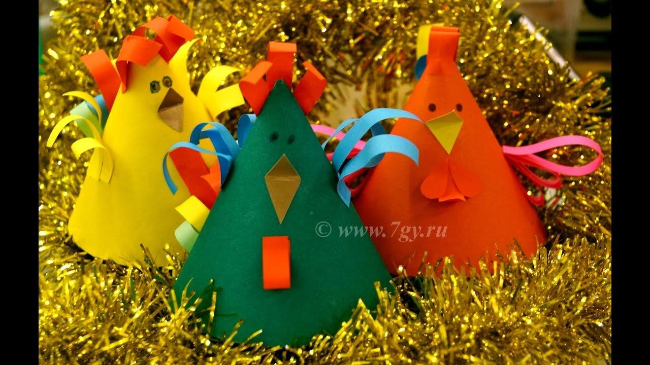 Новогодняя поделка петух своими руками фото 981