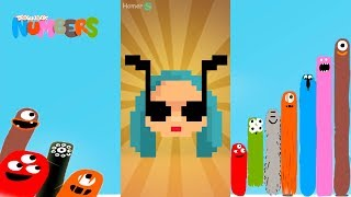 Fun Faces 2 Part 2 Puzzles - DragonBox: Numbers (iPad, iPhone, Android). Fun game for kids.