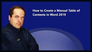 كيفية إنشاء دليل جدول المحتويات في كلمة 2019