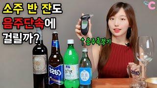 소주 반잔만 마셔도 음주단속에 걸릴까? ★꾸잉Cooin…