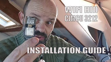 tutorial Wireless HID attack CJMCU-3212 configuration wifi ducky