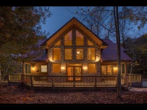 Blue Sky Cabin Rentals - Secluded Hideaway - 3 Bedrooms ...