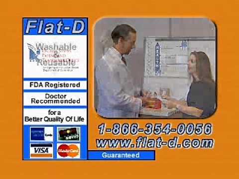 Flat-D commercial