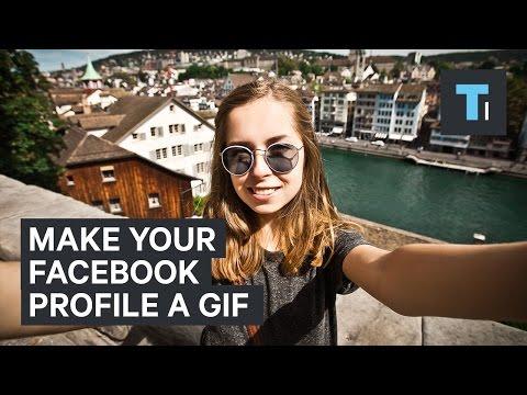 Make Your Facebook Profile A GIF