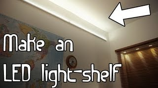Build An Led Light-shelf