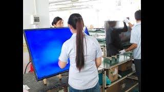 Vitek ULTRA HD 4K 2K LED LCD Smart TV Supplier Factory Panel checking