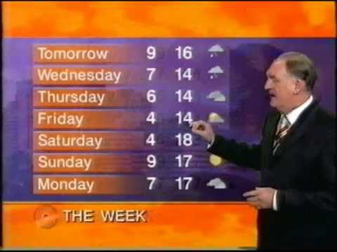 9 News Adelaide August 8 2005 Weather With Keith Martyn