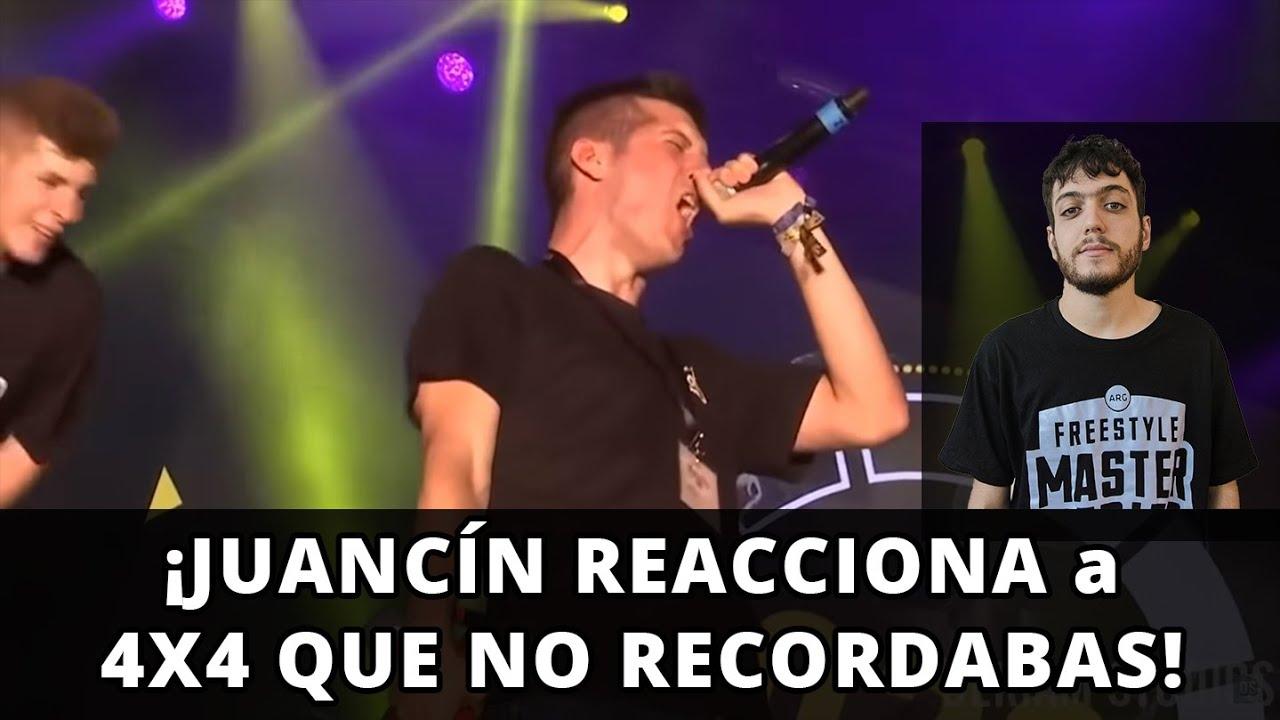 ¡JUANCÍN REACCIONA a 4X4 QUE NO RECORDABAS!
