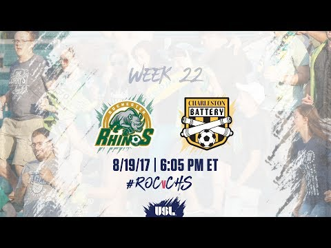USL LIVE - Rochester Rhinos vs Charleston Battery 8/19/17