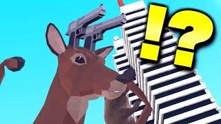シカが銃を撃ったり車に乗って街を破壊するゲームが狂ってて笑う【バカゲー】 thumbnail