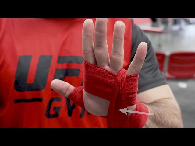 MMA Hand Wrap with Ricardo Lamas