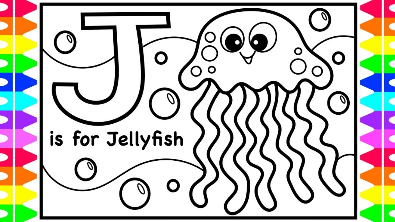 Abc Alphabet Coloring Pages For Kids