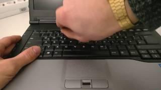 Fujitsu Lifebook S782 - Keyboard removal / Tastatur ausbauen