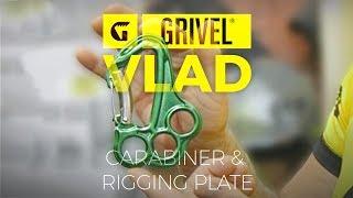 Grivel Vlad carabiner rigging plate