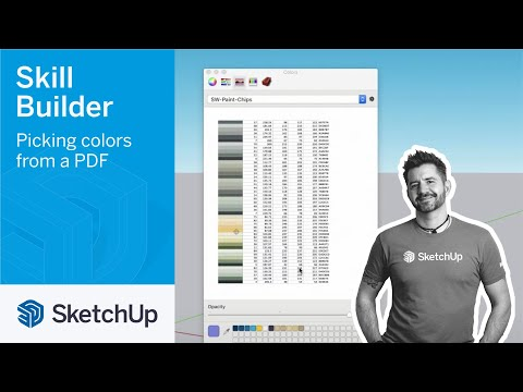 Picking colors from a PDF - Skill Builder