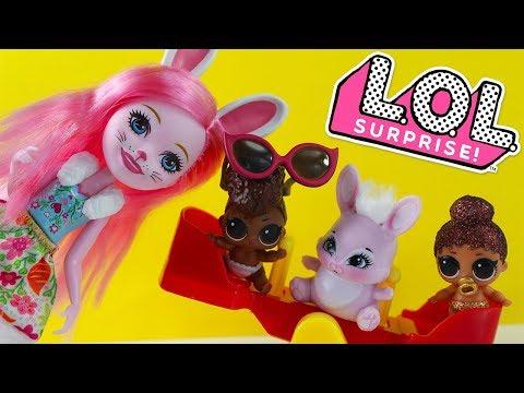 #Куклы ЛОЛ Сюрприз Детский сад Новая НЯНЯ Enchantimals Игрушки LOL Surprise Decoder Eye Spy