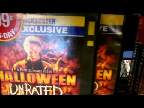Inside of the Salinas,Cali Blockbuster few days before it closed down