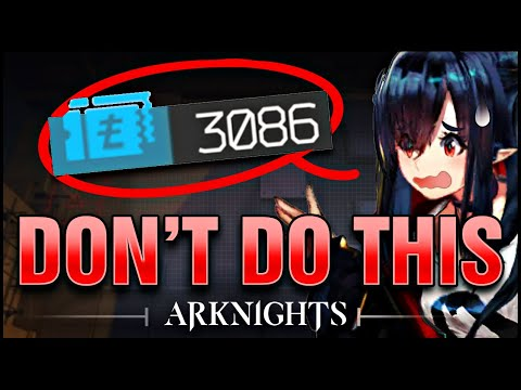 10 COMMON MISTAKES BEGINNERS MAKE! Arknights