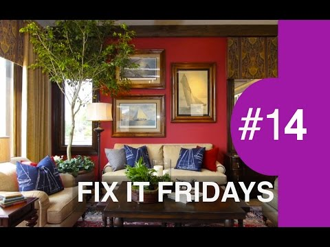 Interior Design | Family Room Makeover | Fix It Friday 14