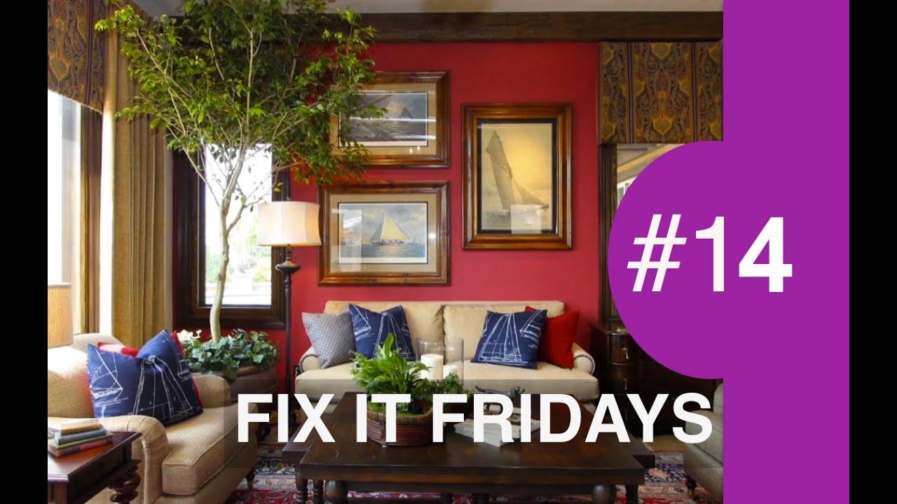 Family Room Makeover Interior Design Fix It Fridays 14 Youtube