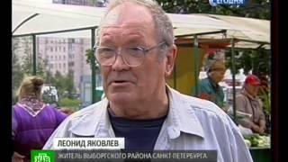 Смотреть видео Новости дня - Санкт Петербург, Снесен незаконный рынок «Лакомка» онлайн