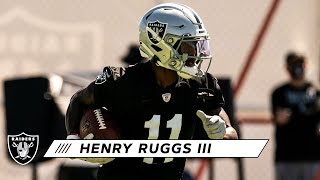 Henry Ruggs III as Advertised & Prepared for Rookie Campaign | Las Vegas Raiders