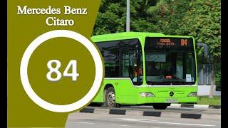 Mercedes Benz Citaro | Go Ahead Singapore | Bus Service 84, SG1055Z