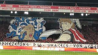 Fan view highlights vom bundeliga spiel zwischen 1.fc union berlin und hertha bsc1-0torschütze sebastian polter (11 meter)