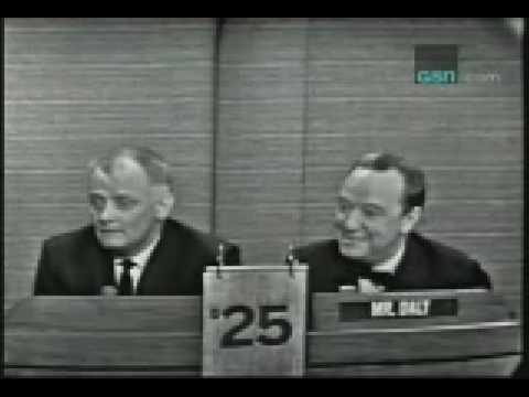 What's My Line Mystery Guest Segment:  Art Carney (3-27-1966)