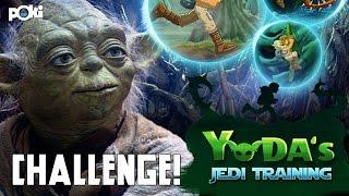 Star Wars Challenge! Yoda's Jedi Training, Poki Challenge