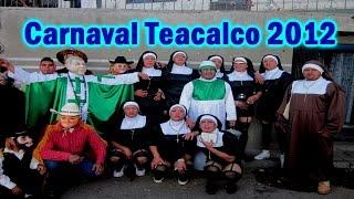 Huehues Carnaval Santa Apolonia Teacalco 2012