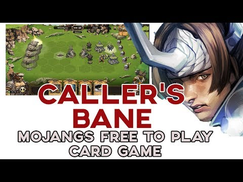 Caller's Bane Is Mojangs Rebranded Card Game