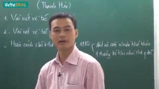 Bài 23  Mùa xuân nho nhỏ Phần 1 Thầy Phạm Hữu Cường