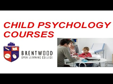Child Psychology Courses, Child psychology Course, Child Psychology Courses Online
