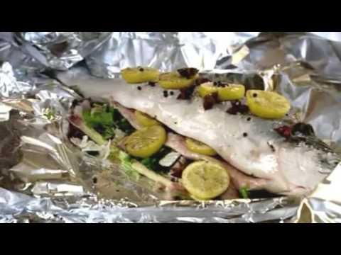 запеченный с лимоном лосось с фото рецепт