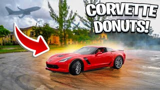 FIRST DAY OWNING THE CORVETTE AND I DID THIS ! | BRAAP VLOGS