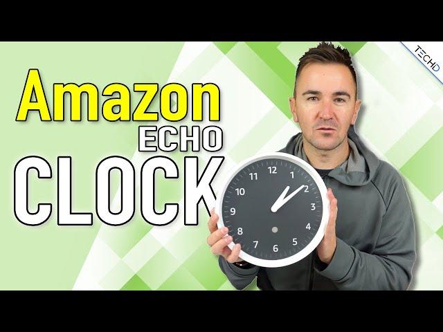 Amazon Echo Clock - L'Orologio di Alexa! - RECENSIONE