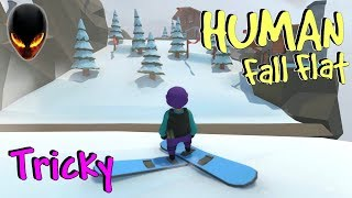 Human Fall Flat : Tricky / Trompeur | ICE LEVEL Achievement