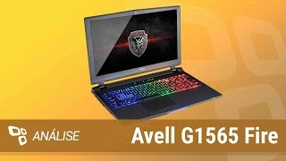 Notebook gamer Avell G1565 Fire [Análise] - TecMundo