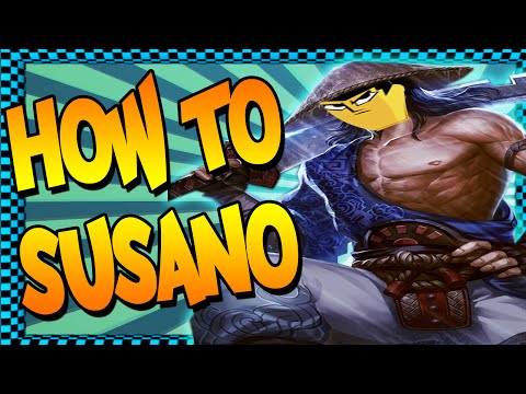 Smite: How To Susano