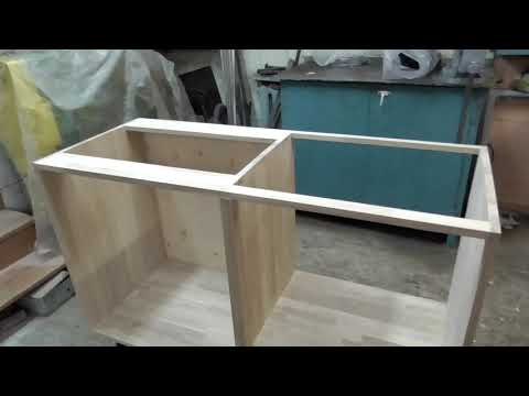Кухня из мебельных щитов своими руками чертежи