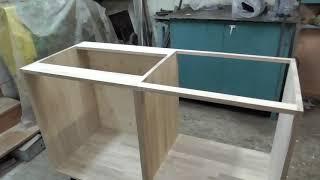 как сделать кухню из мебельного щита своими руками
