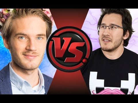 PEWDIEPIE vs MARKIPLIER! Cartoon Fight Club Episode 52