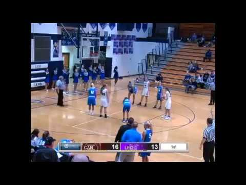 HS GIRLS BB Leo vs Canterbury 1/2/17