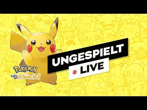 Minecraft Link & Pokémon Let's Go Pikachu   #ungespielt