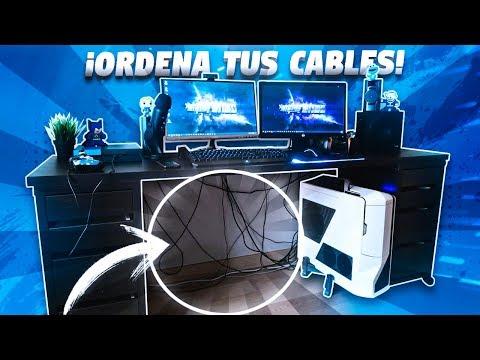 COMO ORDENAR LOS CABLES DE TU SET-UP GAMING CORRECTAMENTE!