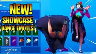 *NEW* ROSA SKIN SHOWCASE WITH DANCE EMOTES! Fortnite Battle Royale