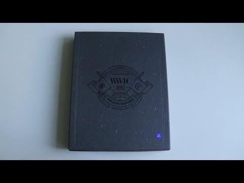 Unboxing WINNER 위너 WWIC 2015 in Seoul DVD