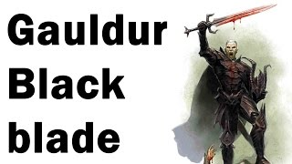 Skyrim How to get: Gauldur Blackblade (Location Folgunthur Walkthrough)